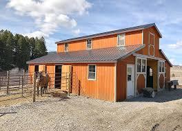 horse barn montana shed center