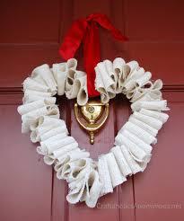 valentines wreaths 25 diy s day wreaths six stuff