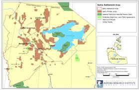 Aurora Map Sahtu Settlement Area Aurora Research Institute