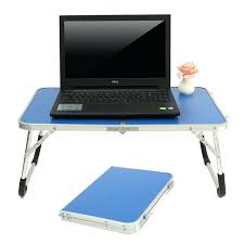 Portable Laptop Desk On Wheels Portable Laptop Desk Laptop Desk On Wheels L Shape Black Glass