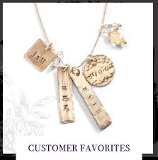 personalized jewelry for sted jewelry personalized nameplate necklace three