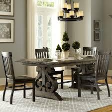 rectangular pine dining table bellamy wood rectangular dining table chairs in deep weathered