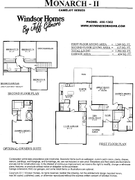 Monarch Homes Floor Plans Fort Wayne Home Builder Of Choice Windsor Homes