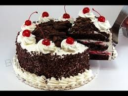 superb black forest cake how to make pastry frosting cake