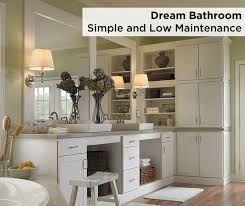 keep it simple with brellin style aristokraft bathroom cabinets in
