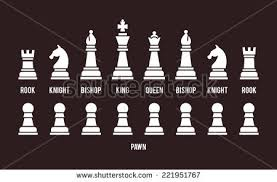 Futuristic Chess Set Chess Pieces Vector Stock Images Royalty Free Images U0026 Vectors