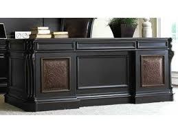 black office desk for sale executive office desks hooker furniture black with reddish brown x