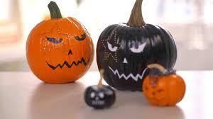 video punk rock inspired pumpkins martha stewart