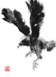 eagle painting chinese