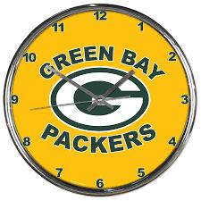Green Bay Packers Home Decor Green Bay Packers Wall Clock Clocks Home U0026 Office