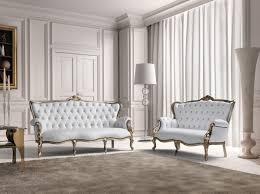 Ital Leather Sofa Estro Salotti Bach Modern White Leather Sofa And Loveseat Estro