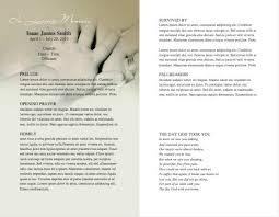 Funeral Program Ideas Funeral Programs Examples Example2jpg 7 Funeral Programs