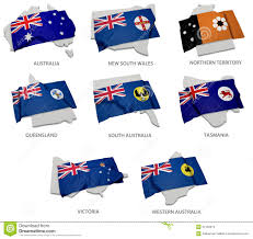 Tasmania Flag A Collection Of The Flags Covering The Corresponding Shapes From