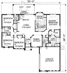 2000 sq ft floor plans house plan 54801 at familyhomeplans com