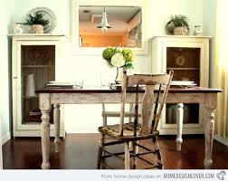 shabby chic dining room tables 15 pretty and charming shabby chic dining rooms home design lover