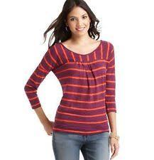 juniors 3 4 sleeve tops blouses for ebay