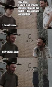 Walking Dead Rick Meme - coral walking dead memes rick dick grimes coral meme collection