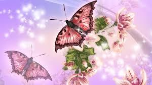 wallpapers of glitter butterflies butterfly stars pink glow butterflies lavender flowers shine summer