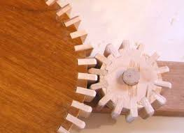wooden gear cutting jig