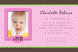 birthday invitation photo cards for girls with bright pink frame