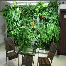 artificial plants green plastic plants wall artificial plants wall for meeting room
