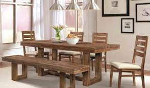 furniture surprising rustic glam dining room table uncommon