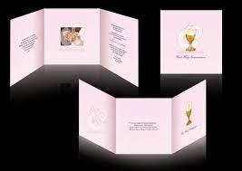 1st Holy Communion Invitation Cards C U0026 O Ad Ventures First Holy Communion Invitation Card