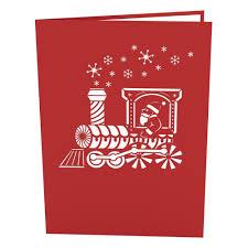 santa pop up card lovepop