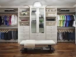 wood closet systems with doors