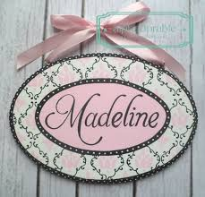 baby name plates 64 best custom painted plaques images on