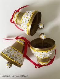 cloches de noël en quilling quilled christmas bells 05 2017