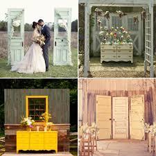 wedding arch using doors wedding shutters weddingwise
