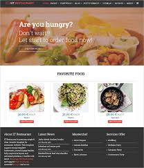 birthday food delivery 17 online food ordering delivery website templates free