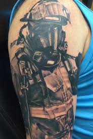 impressive firefighter tattoos tam blog