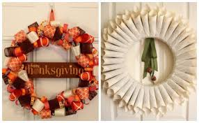 pretty thanksgiving wreaths