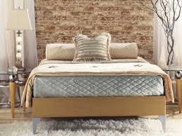 vliestapete schlafzimmer backstein tapete wandgestaltung mit realistischem effekt
