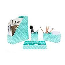 aqua blue desk accessories aqua desk accessories amazon com