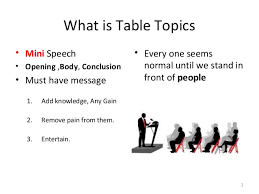 toastmasters table topics contest questions survival questions