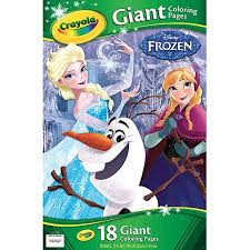 crayola giant coloring pages disney frozen walmart