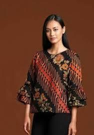 gambar model baju batik modern 5 dari 50 lebih gambar model baju batik modern terbaru 2018 yang