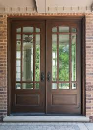 wood glass front door home design stained glass interior doors exterior stylish black