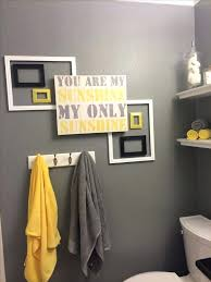 yellow bathroom decorating ideas endearing bathroom decorating ideas gray and yellow grey bathrooms