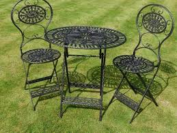 Glides For Patio Furniture by Patio 44 Wrought Iron Patio Furniture Mesh Wrought Iron Patio