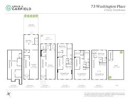Sketch Floor Plans 73 Washington Place New York Ny 10011 Greenwich Village