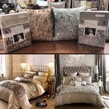 kylie minogue octavia double duvet cover 2 p cases in amethyst
