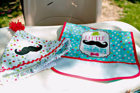 everything you need for a little man mustache birthday party we