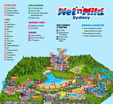 n u0027wild sydney park map
