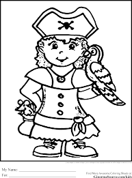 98 ideas pirate parrot coloring pages emergingartspdx