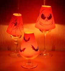 Glass Lamp Shades For Table Lamps Mini Wine Glass Lamp Shade 3 Steps