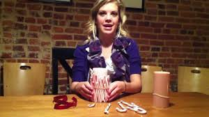 holiday how to candy cane centerpiece youtube